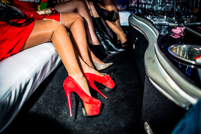 Girls night out at Lauderdale Limos